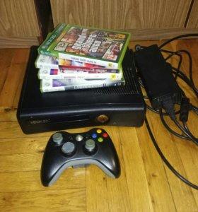 Xbox 360 + gta игры