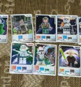 Коллекционные карточки Star Wars от Lego