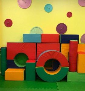 Мягкие большие кубики
