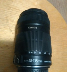 Обьектив Canon efs 18-135/3.5-5.6 IS STM