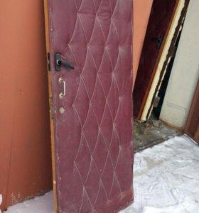 Дверь утепленная