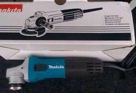 Makita (новая) угловая шлифовальная машина
