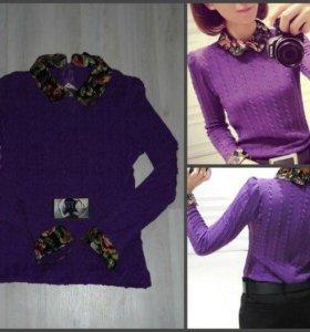 🔥Новая кофточка в фиолетовом цвете