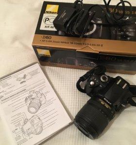 Nikon D60 объектив Nikon 18-108