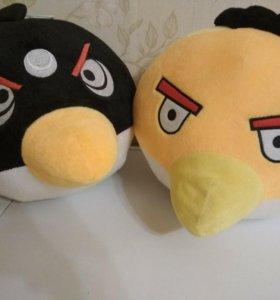 Мягкие игрушки птицы Angry birds