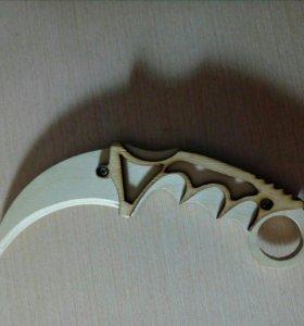 Нож деревянный