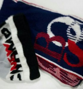 Шапка шарф комплект для мальчиков весенний