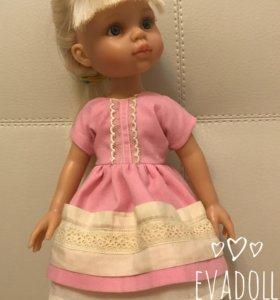 Платье для куклы, одежда Paola reina