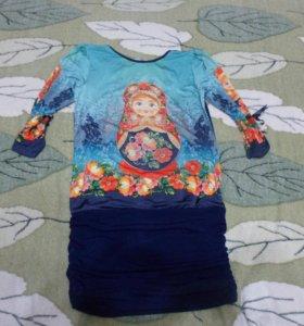 Платье нарядное, 11-12 лет
