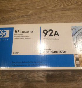 Оригинальный картридж HP C4092A новый