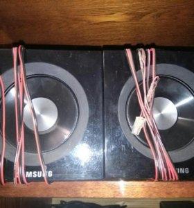 Колонки от аудиосистемы samsung