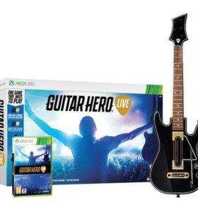 Guitar Hero Live.Гитара + игра. XBOX ONE