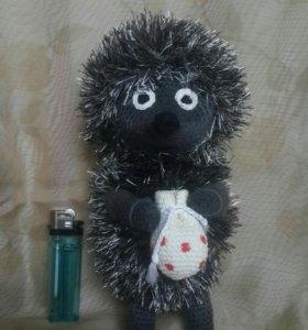 Ежик в тумане вязаная игрушка