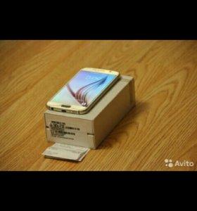 Samsung Galaxy S6 64Gb Duos + чек покупки