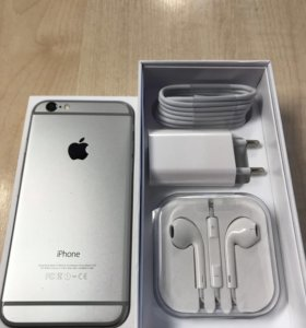 iPhone 6, Space Gray, 16 гб
