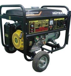 Бензиновый 220в новый генератор 8кВт
