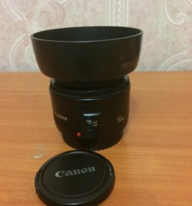 Canon EF 50 mm f1.8
