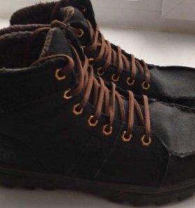 Ботинки мужские из нубука
