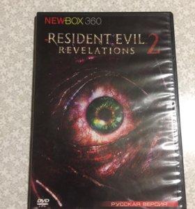 Игры на Xbox Диски Resident evil 2 revelations