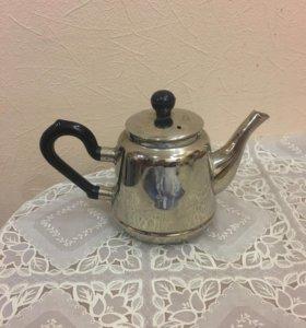 Мельхиоровый чайник из Кольчугино