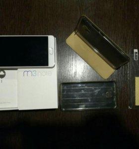 Meizu m3 note 16gb gold