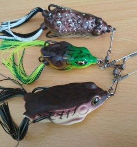 Лягушки для ловли хищной рыбы (змееголов)