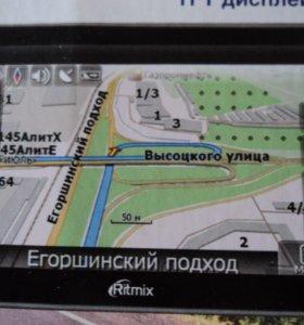 автомобильный GPS навигатор RGP-586TV Ritmix