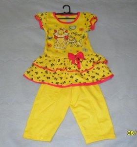 Платье детское двойка
