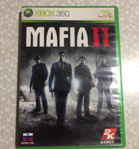 Игры на Xbox диски на xbox 360 Mafia 2