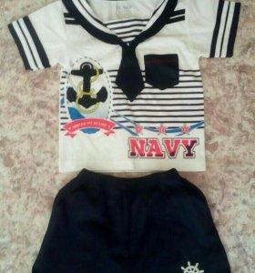 Комплект моряк для мальчиков