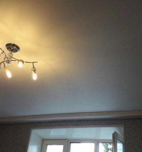 Натяжной потолок во всю квартиру