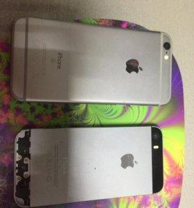 iPhone 6s (64g) и 5s (16g)