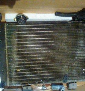 Радиатор ваз 2106 б/у