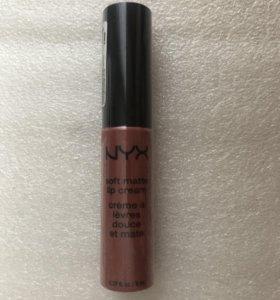 NYX жидкая помада - крем для губ smlc 19 стойкая