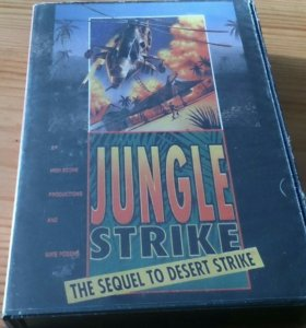 Sega Jungle strike