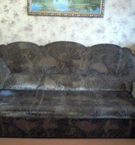 Мягкий уголок (диван , 2 кресла)