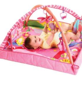 Развивающий коврик Tiny love для девочки