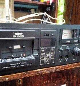 Кассетный магнитофон-приставка Вильма-104