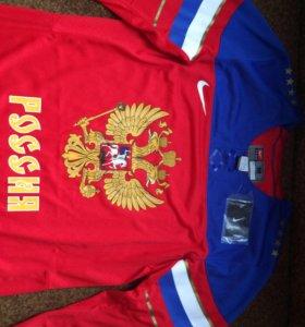Хоккейная майка «Россия»