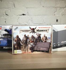 Hamy 4 (Dendy + Sega) 350 игр Хами Денди Сега