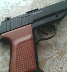 Детский пистолет с пульками