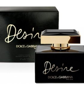 The One Desire от Dolce & Gabbana