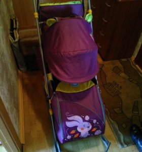 Санки на колесах Ника-детям 7