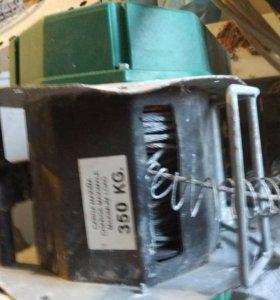 Электрическая строительная лебедка 350кг