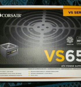Блок питания corsair VS650 650W
