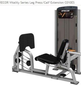 Тренажер precor Vitality Series Leg Press/Calf Ext