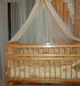 Кровать детскую