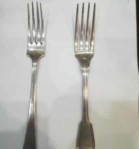 Вилки серебро 800 проба
