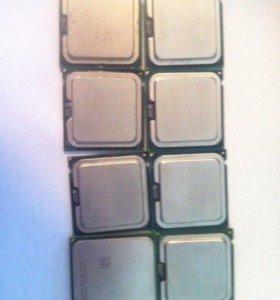 Процессоры intel core 2 duo e7500/AMD Athlon 64x2