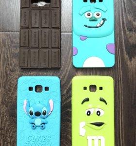 Чехлы для Samsung galaxy A7 2015 мало б/у